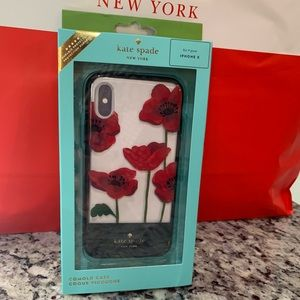 NWT Authentic Kate Spade iPhone X case
